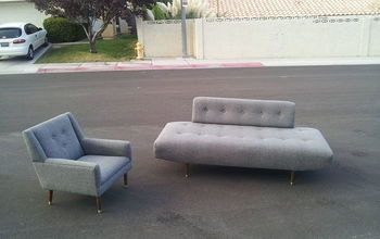 Sofa and chair recovered