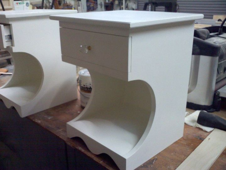 night stands for my daughter, painted furniture