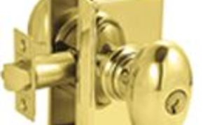 recommendation for a good front door lock, doors, home security, Emtek Egg Knob Single Cylinder Keyed Entry