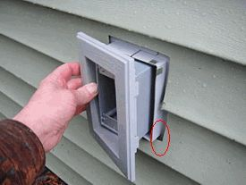 Sealing Around A Vinyl Siding Mounting Block Hometalk