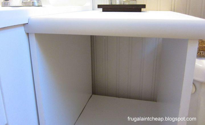 trim on side storage