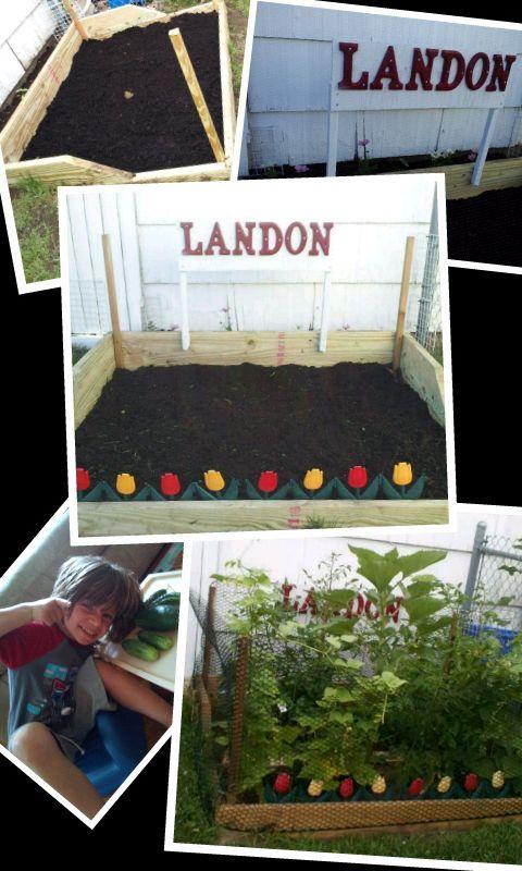 a toddler garden for less than a 100, gardening, outdoor living