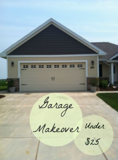 a diy garage door makeover, curb appeal, garage doors