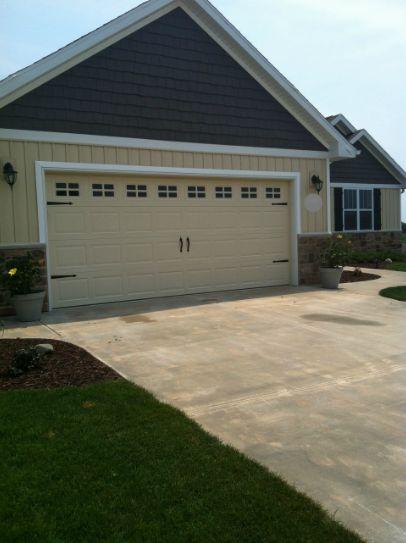 a diy garage door makeover, curb appeal, garage doors
