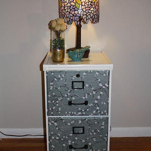 DIY Filing Cabinet Makeover