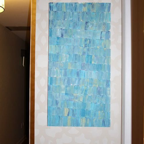 easy diy art project, crafts, home decor, painting