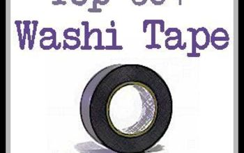 top 50 washi tape projects, crafts, Top 50 Washi Tape Projects A new Top 50 project every Monday at