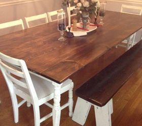 Charmant Farmhouse Dining Room Table