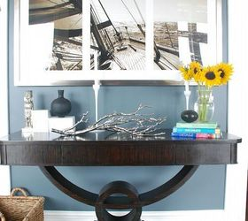 New Madagascar Zebra Wood Console Table, Home Decor, Living Room Ideas,  Painted Furniture