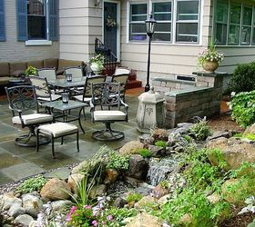 Stone Amp Brick Patio Repair Led Lighting Waterfalls Fountain And  Landscaping In, Fire Pit,