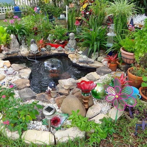 my pond, ponds water features