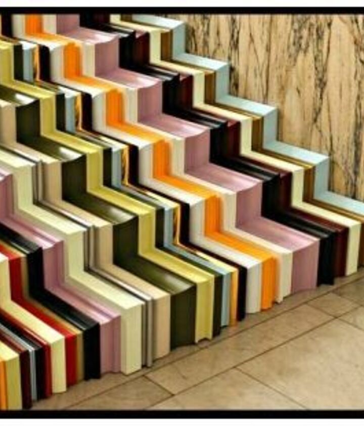 """crown molding """"off the wall"""" ... as stairs via Worthington Millwork"""