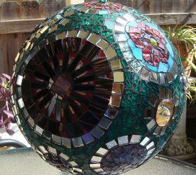 Mosaic Gazing Ball Hometalk