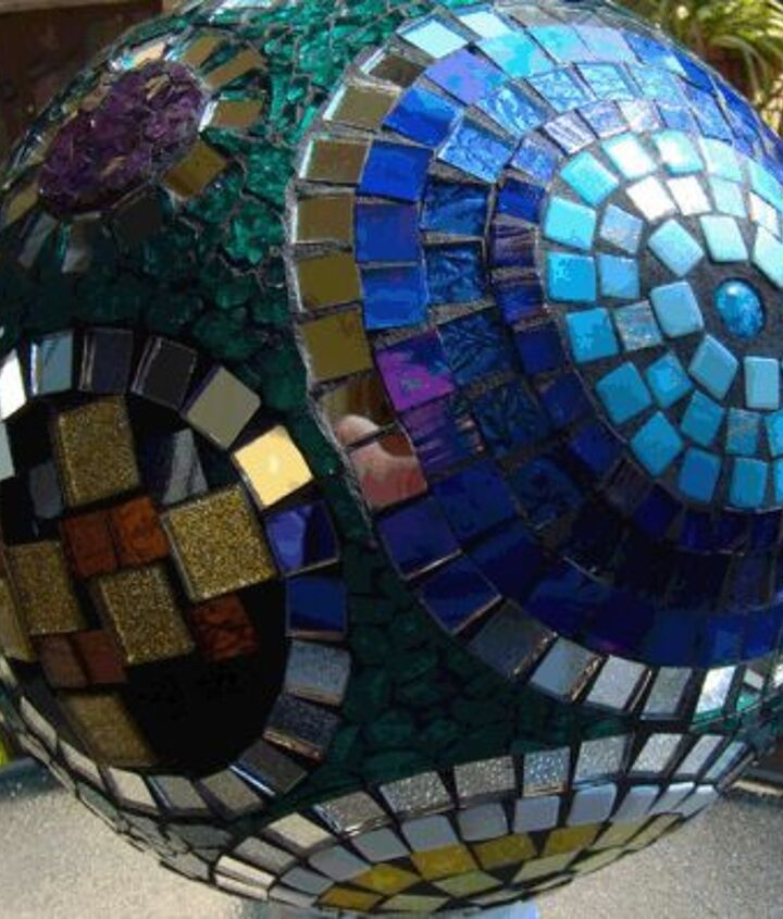 Yet another side of gazing ball
