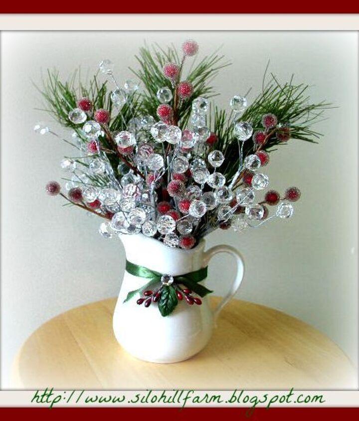 christmas floral creation, christmas decorations, seasonal holiday decor