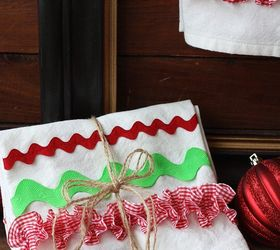 Diy Christmas Kitchen Towels, Christmas Decorations, Crafts, Seasonal  Holiday Decor ...