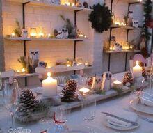 a woodland christmas, crafts, repurposing upcycling, seasonal holiday decor, 90 candles
