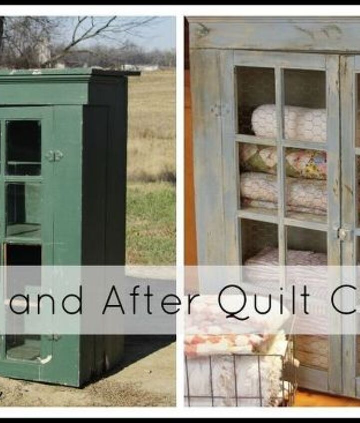 turn an old 1990 s cabinet into a current quilt cabinet, cleaning tips