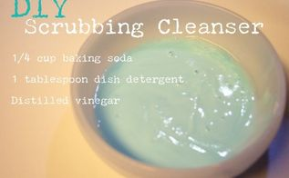 diy scrubbing cleanser, cleaning tips, DIY Scrubbing Cleanser Paste