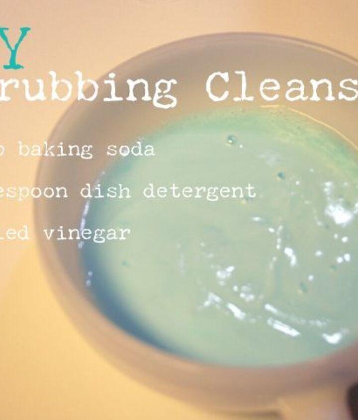 DIY Scrubbing Cleanser Paste.
