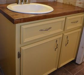 Bathroom Vanity Makeover, Bathroom Ideas, Countertops, Woodworking  Projects, Vanity After Makeover With