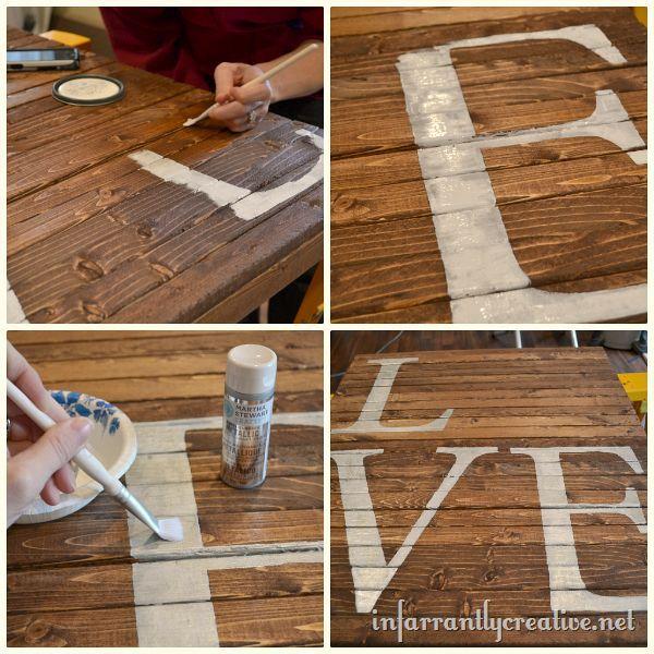 ruffled heart valentines day pallet art, crafts, pallet