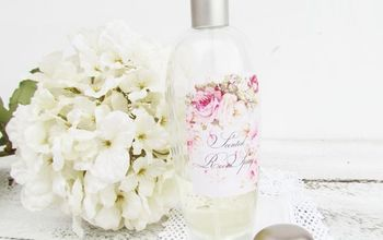 DIY: scented room spray