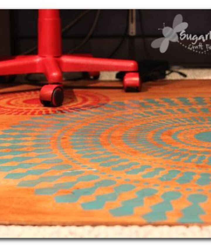 plywood rug, reupholster