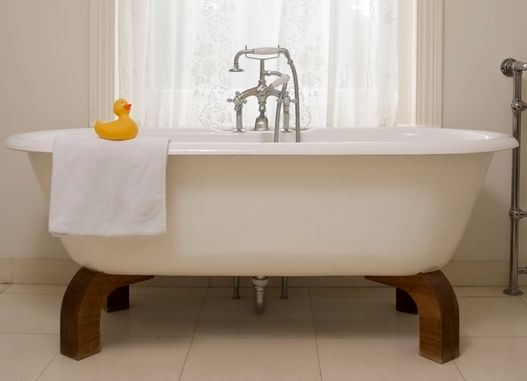 you deserve a sparkling bathroom, bathroom ideas, cleaning tips