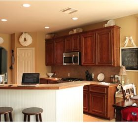 Kitchens Remodeling Paint, Kitchen Design, Painting, Kitchen Before With  Dark Oak Stained Cabinets