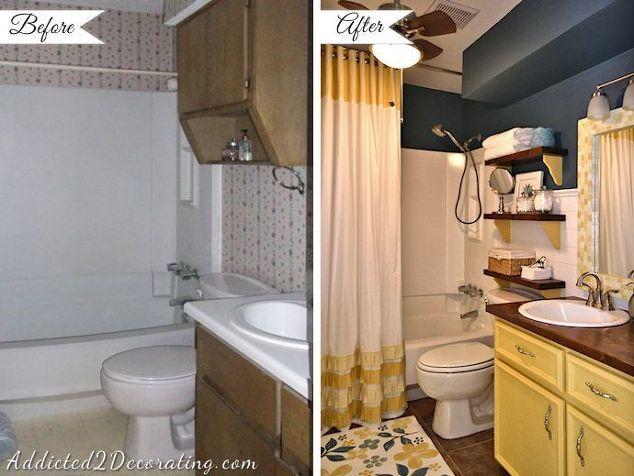 Small Bathroom Makeover Hometalk - Bathroom makeovers for small bathroom ideas