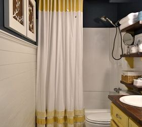 Small Bathroom Makeover, Bathroom Ideas, Home Decor, Small Bathroom Ideas, Shower  Curtain