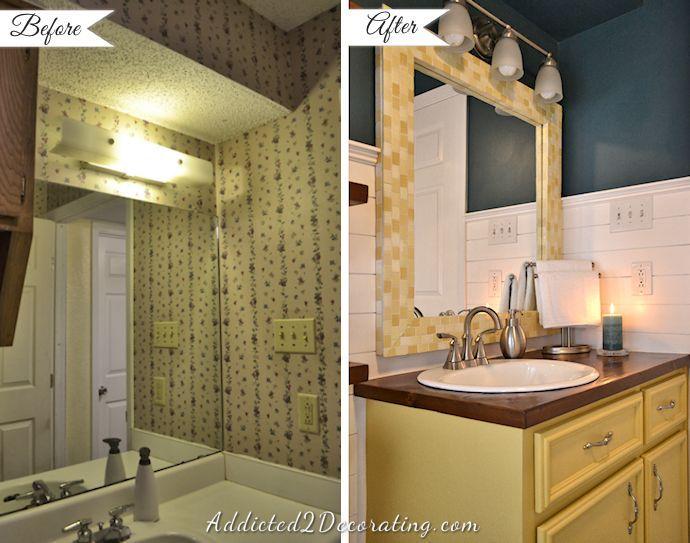 New vanity area.
