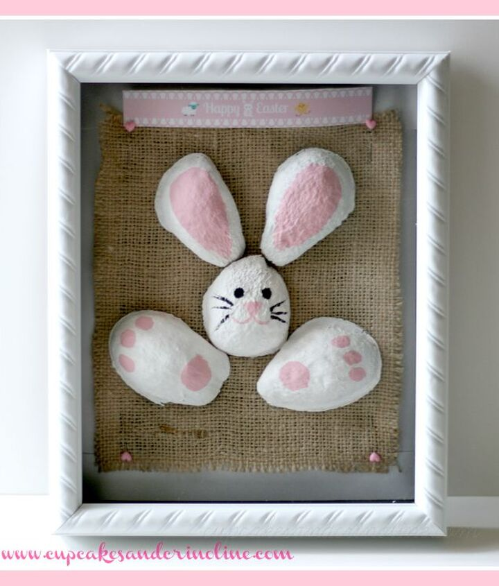 3D Avocado Bunny Mounted and Framed