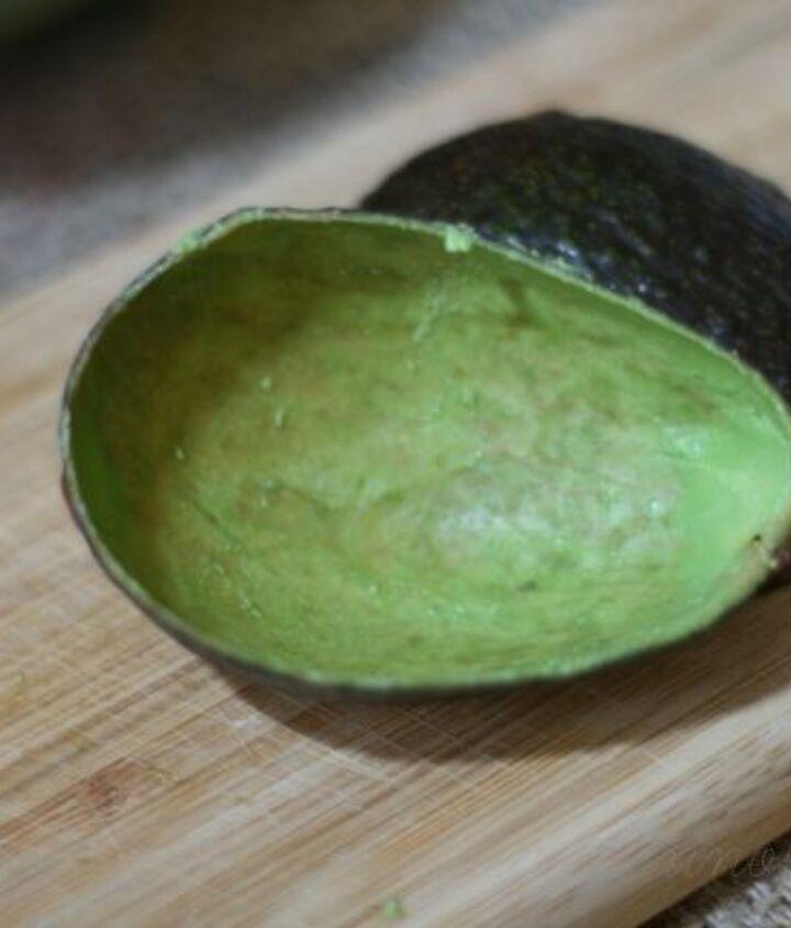 Fresh Avocado Skin