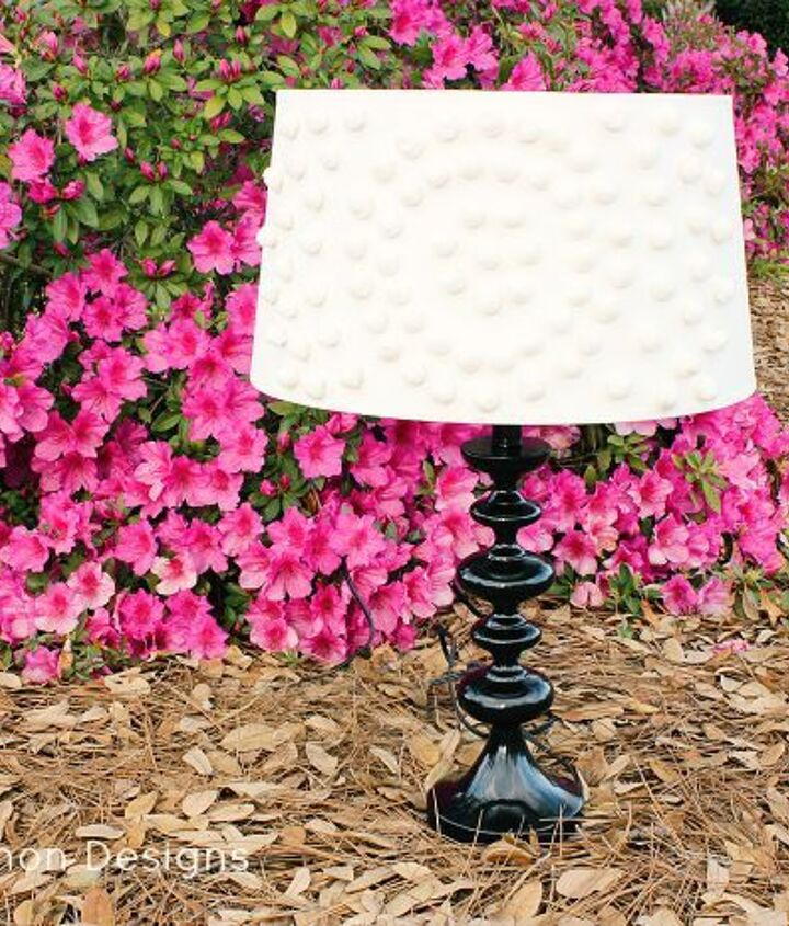 have a lampshade that needs a little pizzazz you will love this, crafts