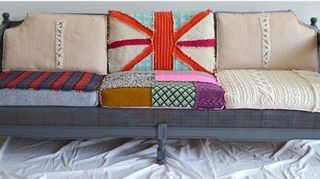 re upholster or re cover, painted furniture, reupholster, JIPSI Boho i believe is the company i found them on Fab com