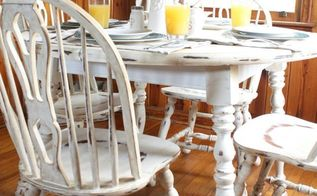 how to revamp your old kitchen table using chalk paint, chalk paint, painted furniture
