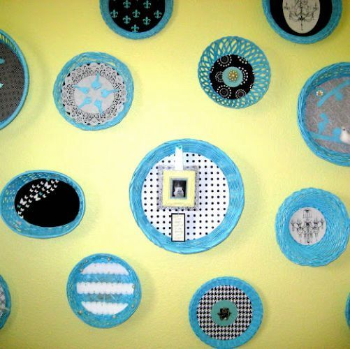 Basket Wall Art {inexpensive & versatile!} | Hometalk