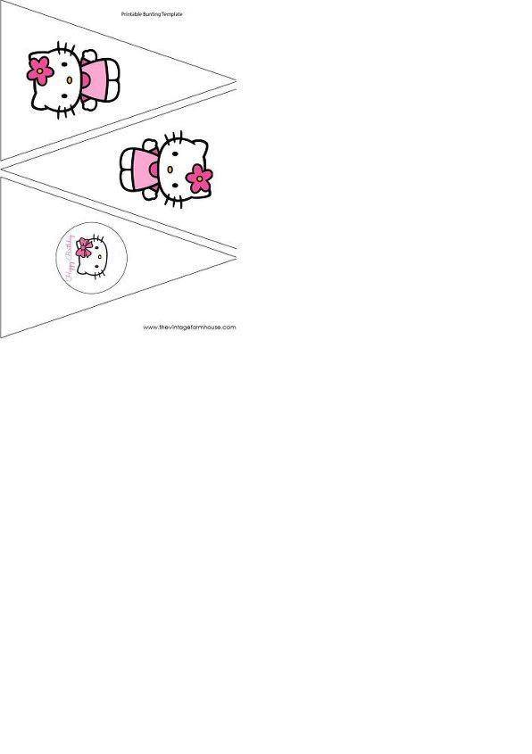 Hello Kitty Bunting