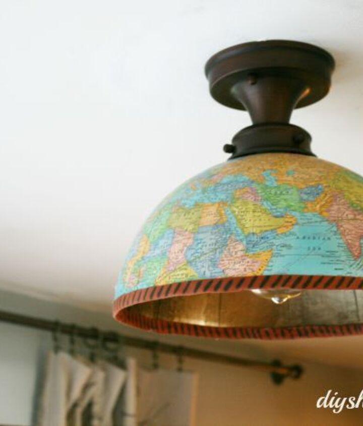 Globe light fixture cover,