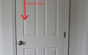 Fix a Sagging Door in 5 Minutes Flat