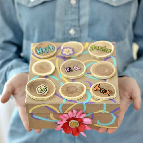 A beautiful box is the basis for this gift. But, it doesn't have to be expensive! Just beautiful