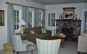 A third generation family cottage before and after