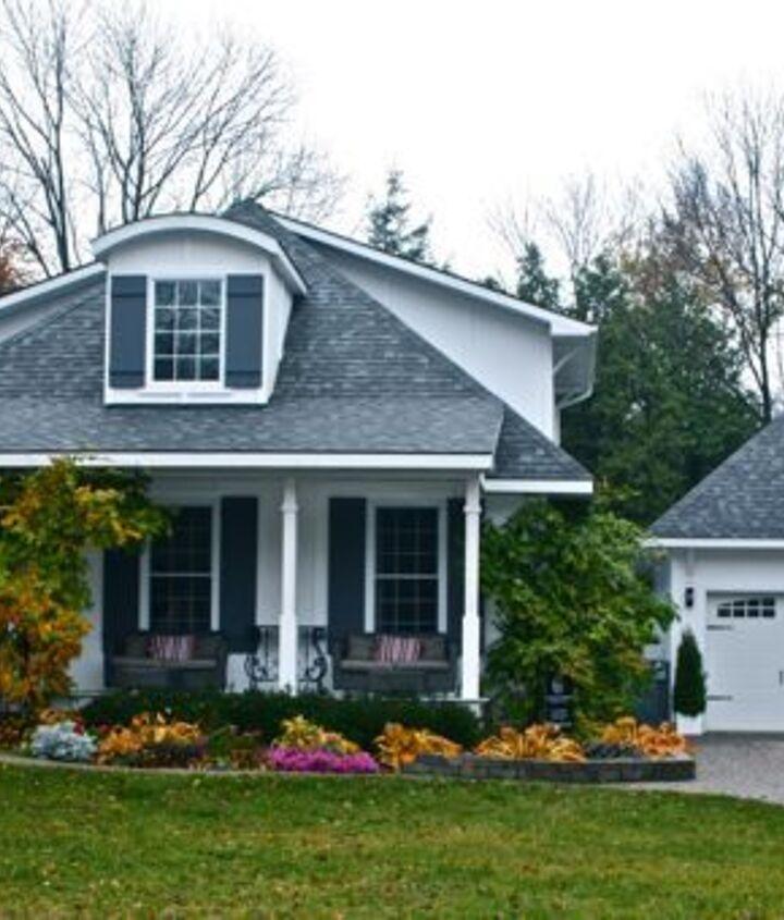 hoop top house gets shutters, curb appeal