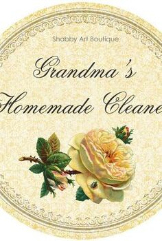 grandma s recipes for homemade cleaning products, cleaning tips, 4 super easy and cheap recipes to make your own natural cleaning products