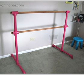 diy portable ballet barre entertainment rec rooms how to : pvc pipe ballet barre - www.happyfamilyinstitute.com