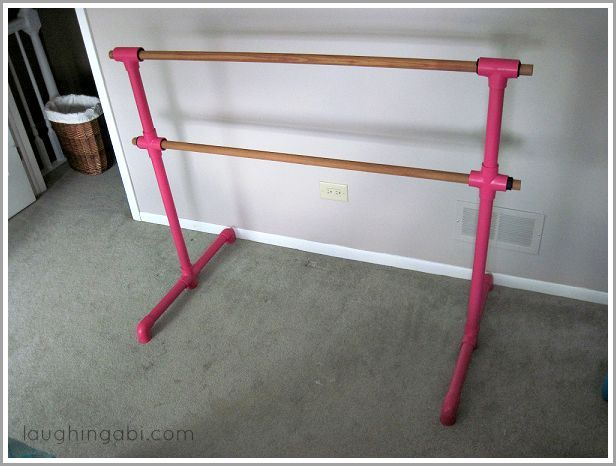 diy portable ballet barre, entertainment rec rooms, how to
