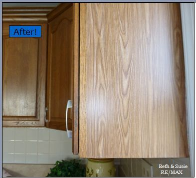 Another Beth & Susie Realtor Quick Fix! Little Details Make a BIG Difference - Good Luck with YOUR Home Projects! Check Out  BethandSusie.com for more REALTOR Quick Fixes!