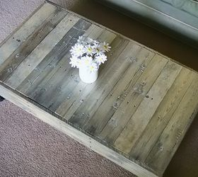 Beau Upcycled Diy Wood Pallet Coffee Table, Diy, How To, Painted Furniture,  Pallet